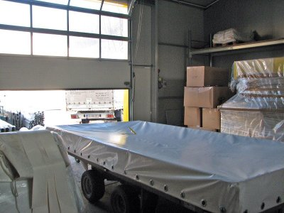 PVC covering for trailer